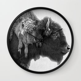 american buffalo Wall Clock