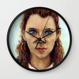 Suzy - Moonrise Kingdom - Kara Hayward Wall Clock