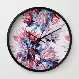 King proteas bloom Wall Clock