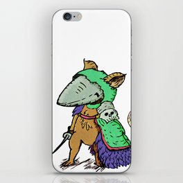 """Sir. Bartlegad of the 7th wing"" iPhone Skin"