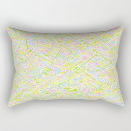 Pick Up Sticks and Patches Rectangular Pillow