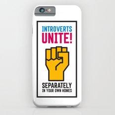 Introverts Unite! iPhone 6s Slim Case