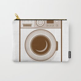 Retro Washing Machine Carry-All Pouch