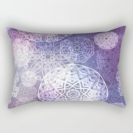 Floral luxury mandala pattern Rectangular Pillow