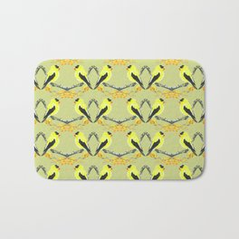 Yellow Finch Bath Mat