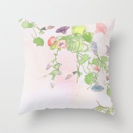 Revival of Spring Throw Pillow