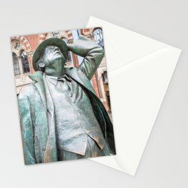 Statue Man Station Stationery Cards