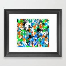 Used Smock 2 Framed Art Print