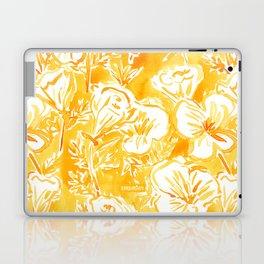 CALI POP Yellow California Poppies Laptop & iPad Skin