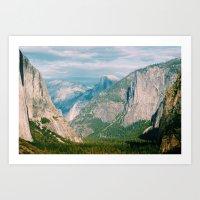 yosemite Art Prints featuring Yosemite  by KPC Photography