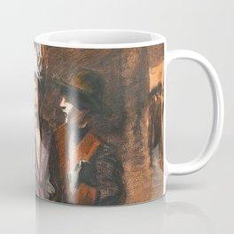 "Théophile Steinlen ""Three women"" Coffee Mug"