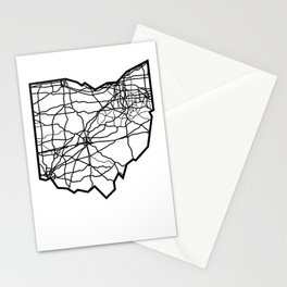Ohio Love Where You're From Stationery Cards