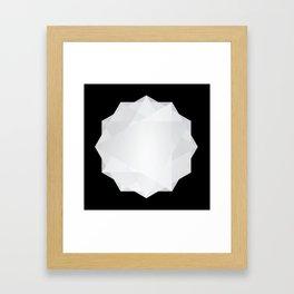 Poly Constellation Framed Art Print