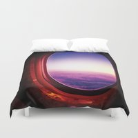 aperture Duvet Covers featuring aperture by Gray