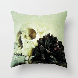 Vanitas Black Dahlia R Throw Pillow