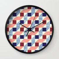 bauhaus Wall Clocks featuring Lightly Bauhaus by Kata