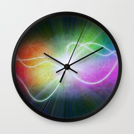 New Beginnings From The Void Wall Clock