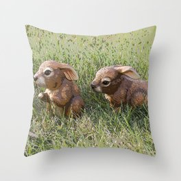 In the Downs Throw Pillow