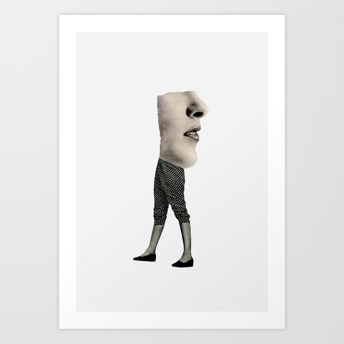 Backwards Art Print