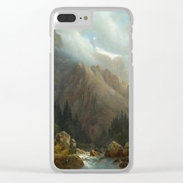 DIDAY, FRANCOIS (1802 Geneva 1877) Rosenlaui. 1841. Clear iPhone Case