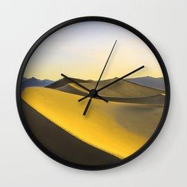Sunlight Surfing Wall Clock