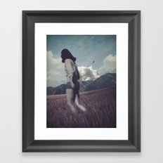 Kicked out Framed Art Print