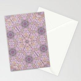 Pink Mandala Stationery Cards