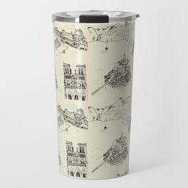 France vintage Travel Mug