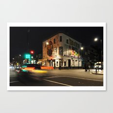 London Barfly Canvas Print