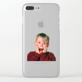 Home Alone Christmas Clear iPhone Case