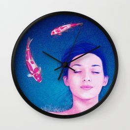 Science of Sleep Wall Clock