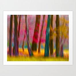 Wish you where here Art Print