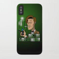 Doctor Greenthumb iPhone X Slim Case