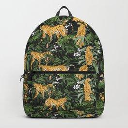 Cheetah in the wild jungle Backpack