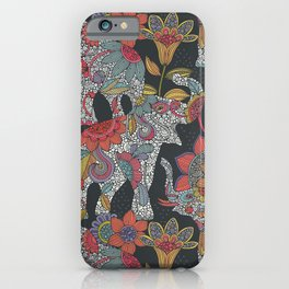 Boho Elephants iPhone Case