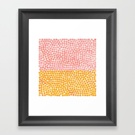 dance 4 Framed Art Print