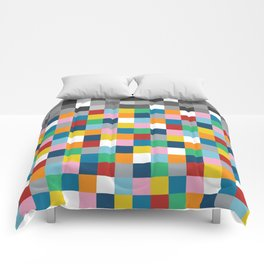 Colour Block with Topper #2 Comforters