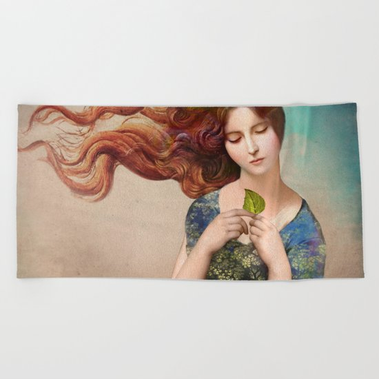 Your True Nature Beach Towel