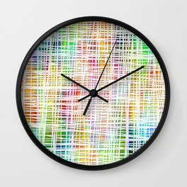 Colorful striped DP034-4 Wall Clock