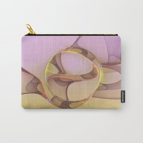 Abstract Motions, Modern Fractal Art Carry-All Pouch