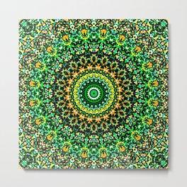 Mosaic Kaleidoscope 1 Metal Print