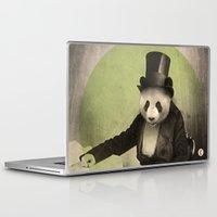 panda Laptop & iPad Skins featuring Proper Panda by Chase Kunz