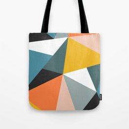 Modern Geometric 36 Tote Bag