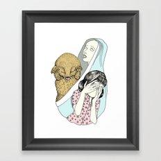 Evil Spirit Framed Art Print