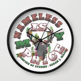 Empire of Storms - Nameless Is My Price Wall Clock