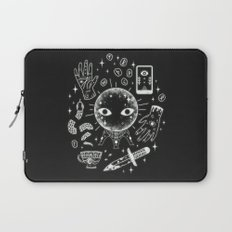 I See Your Future: Glow Laptop Sleeve