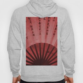Chinese Umbrella in red Colors Hoody