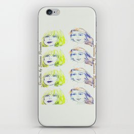 Blondie and Ginger iPhone Skin