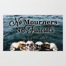 No Mourners - Black Rug