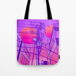 Anime Wires Tote Bag